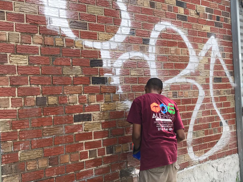 Graffiti Removal Amp Graffiti Cleaning Experts All Bright