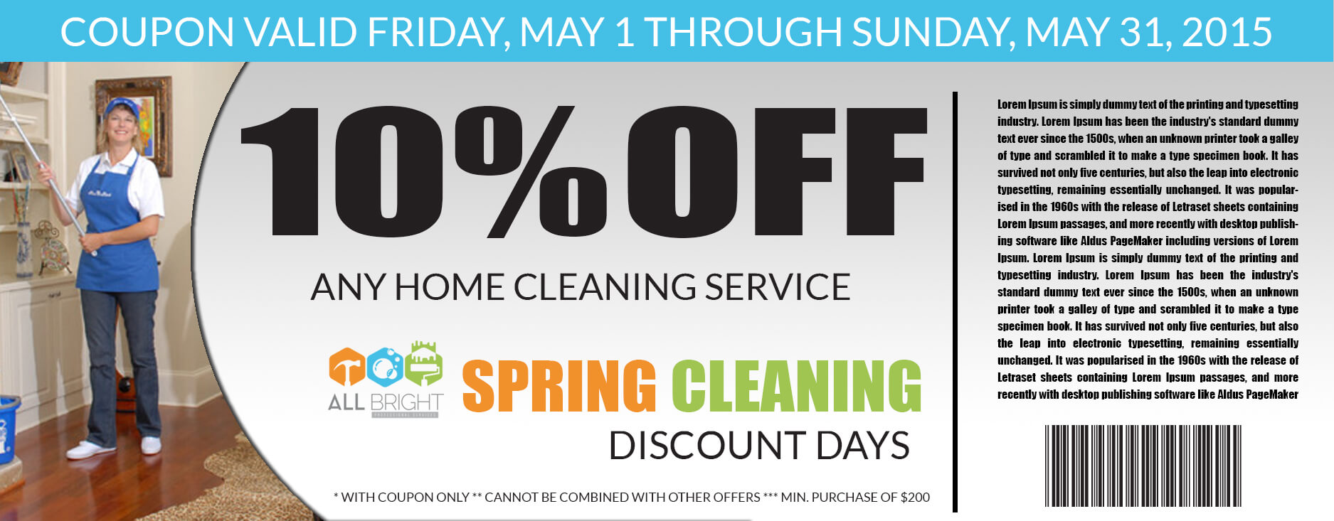 home cleaning-deal