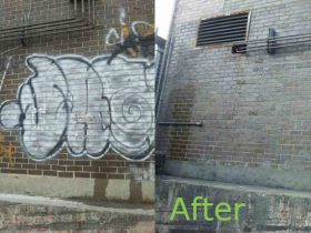 Graffiti Removal NYC All Bright Services